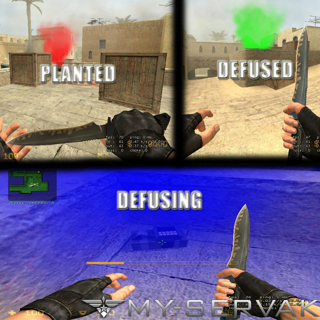 Скачать C4 bomb Defuse/Plant Effects - Version b1 бесплатно