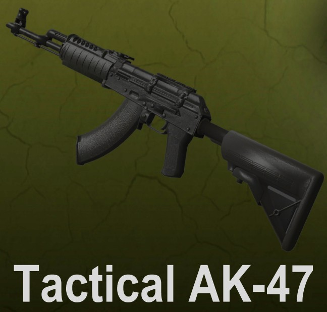 Скачать Tactical AK-47 для cs go бесплатно