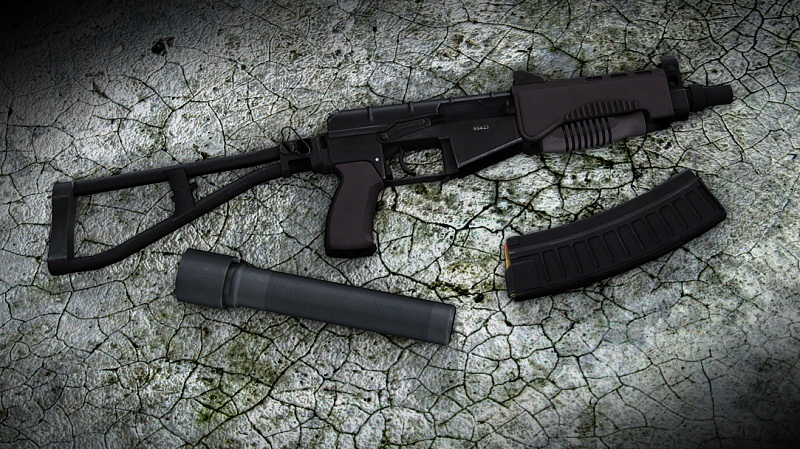 "Скачать SR-3M ""Vikhr"" Compact assault rifle для css бесплатно"