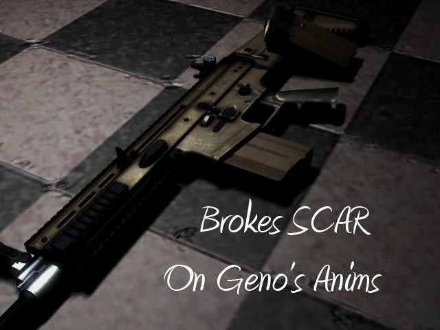 Скачать ImBrokeRU's SCAR on Geno's Anims бесплатно