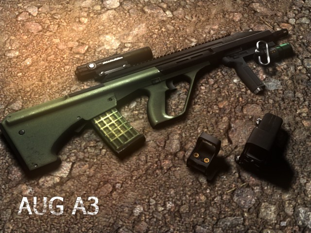 Скачать AUG A3 On Rimuto's Anims для css бесплатно