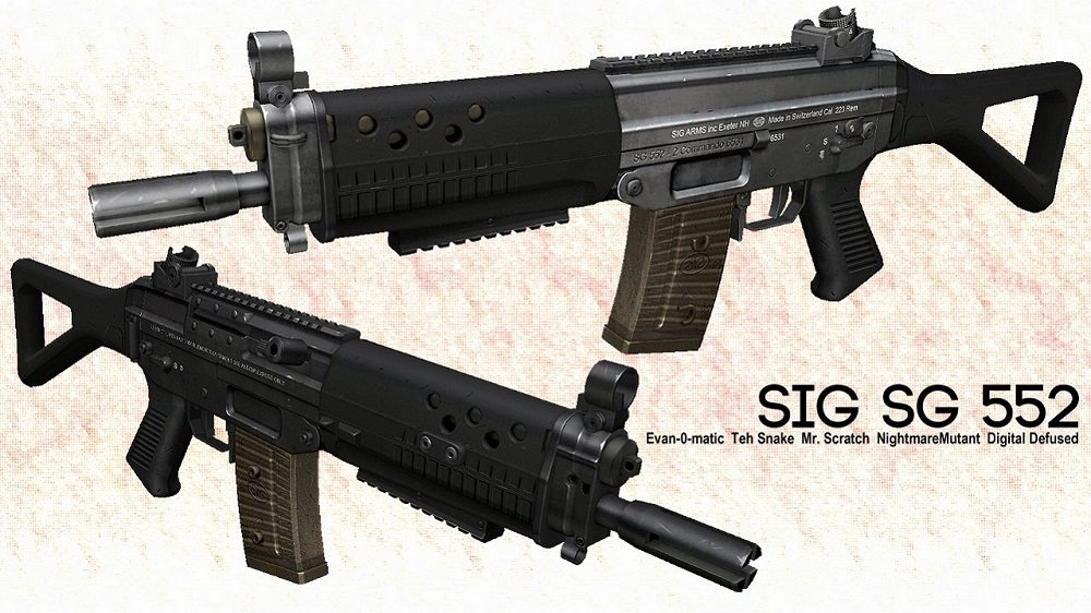 Скачать Sg552 On Mr. Scratch's Animations. для css бесплатно