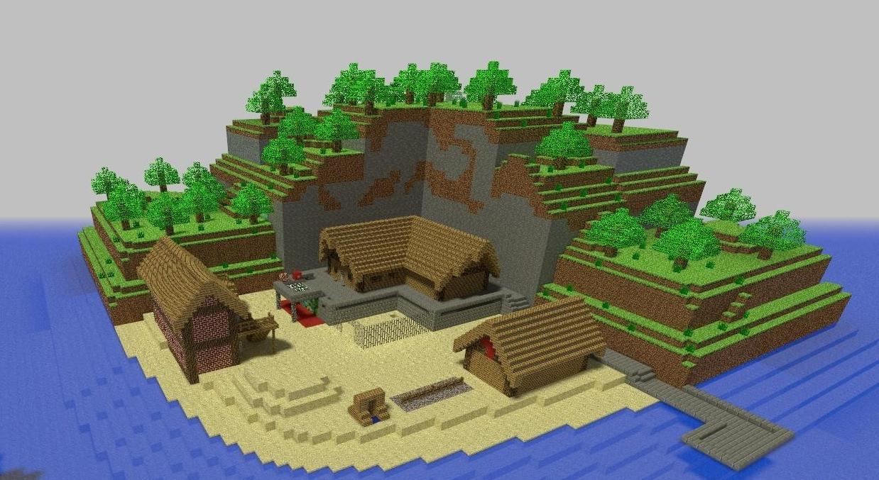 Скачать ba_jail_minecraft_beach_beta3 для css бесплатно