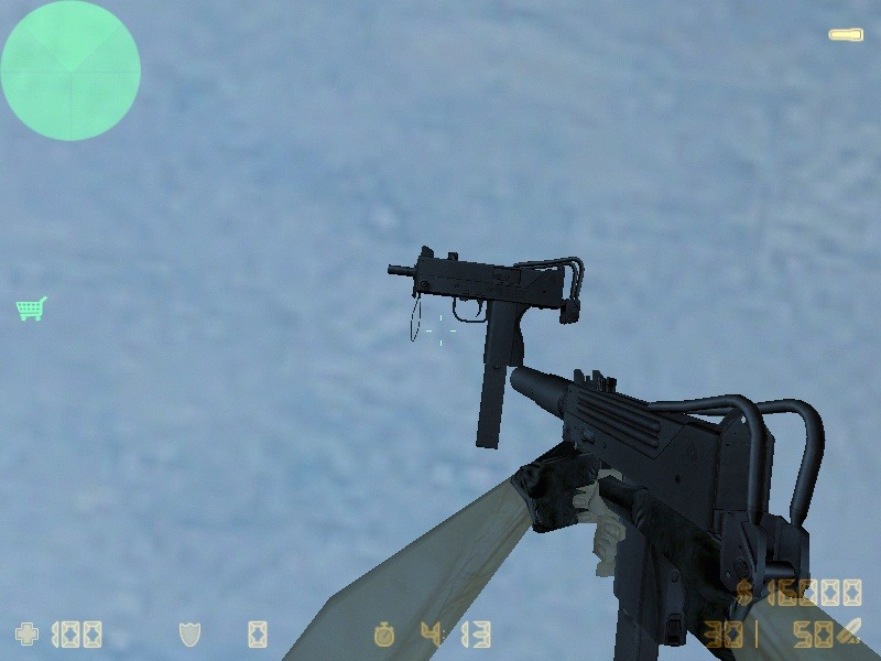 Скачать Bullet_Head's Mac10 (silenced) для cs 1.6 бесплатно