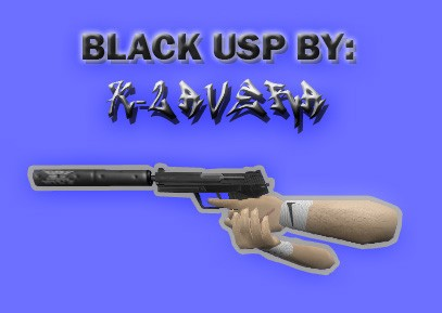 Скачать Black USP для cs 1.6 бесплатно