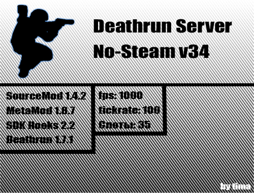 Скачать Deathrun сервер No-Steam v34 бесплатно