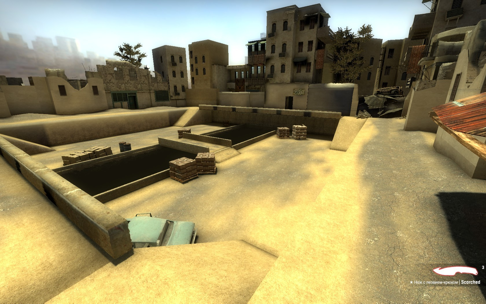 Скачать картa  35hp Iraq для Counter-Strike: Global Offensive бесплатно