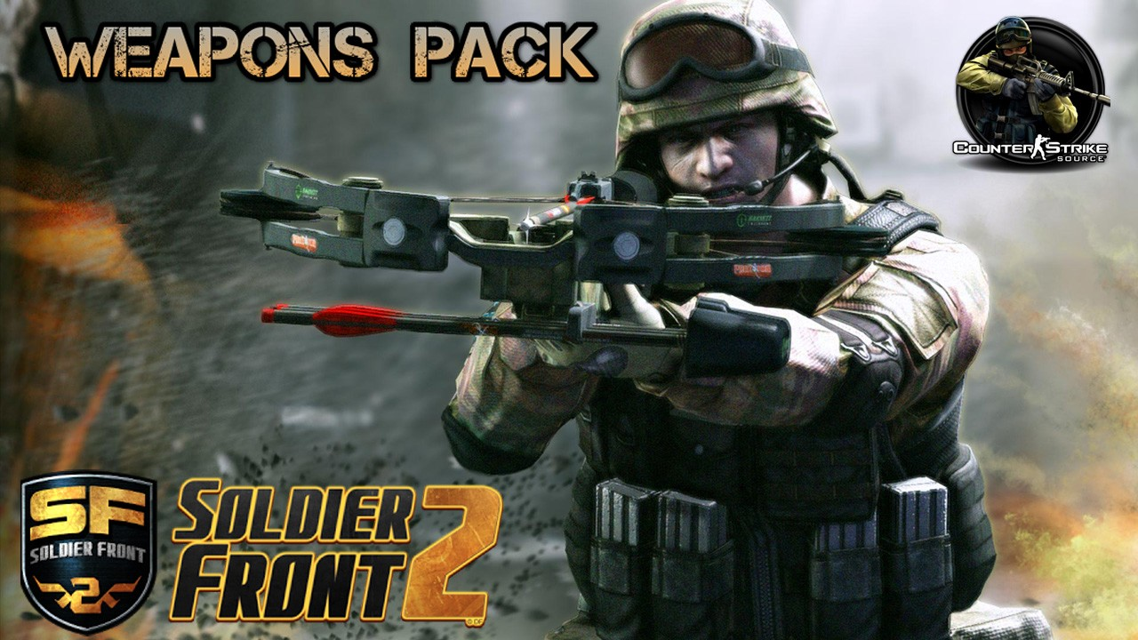 Скачать Soldier Front 2 Weapons Pack бесплатно
