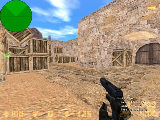 Скачать Kарта fy_dust_long_indentic для Counter-Strike 1.6 бесплатно