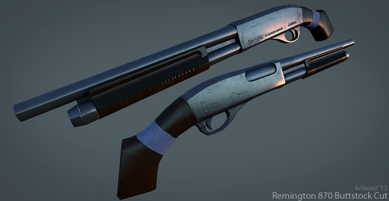 Скачать Remington 870 для css бесплатно