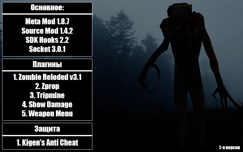 Скачать Zombie Server v2 No-Steam бесплатно