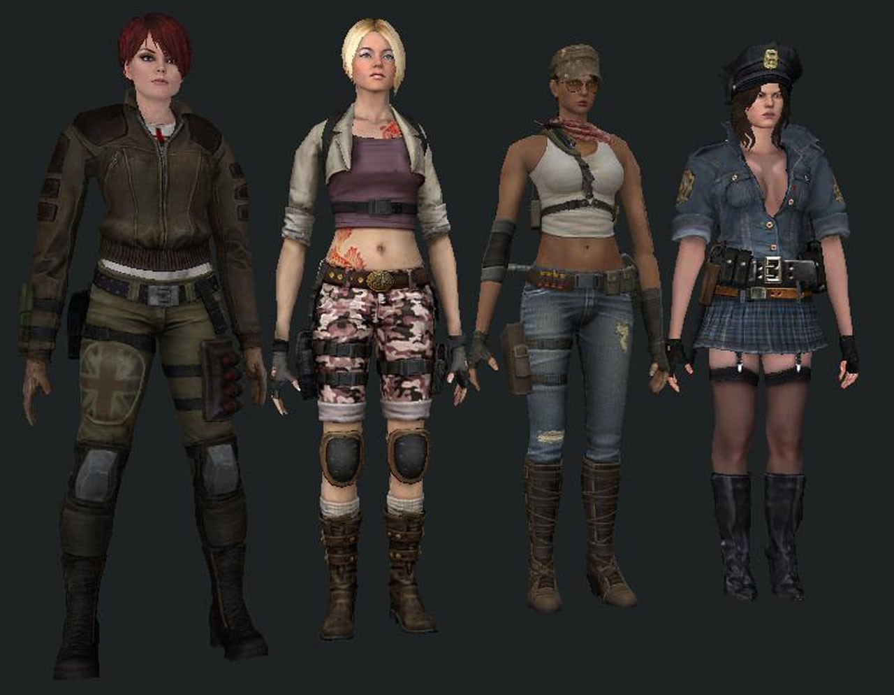 Скачать Female T Pack [CrossFire] бесплатно