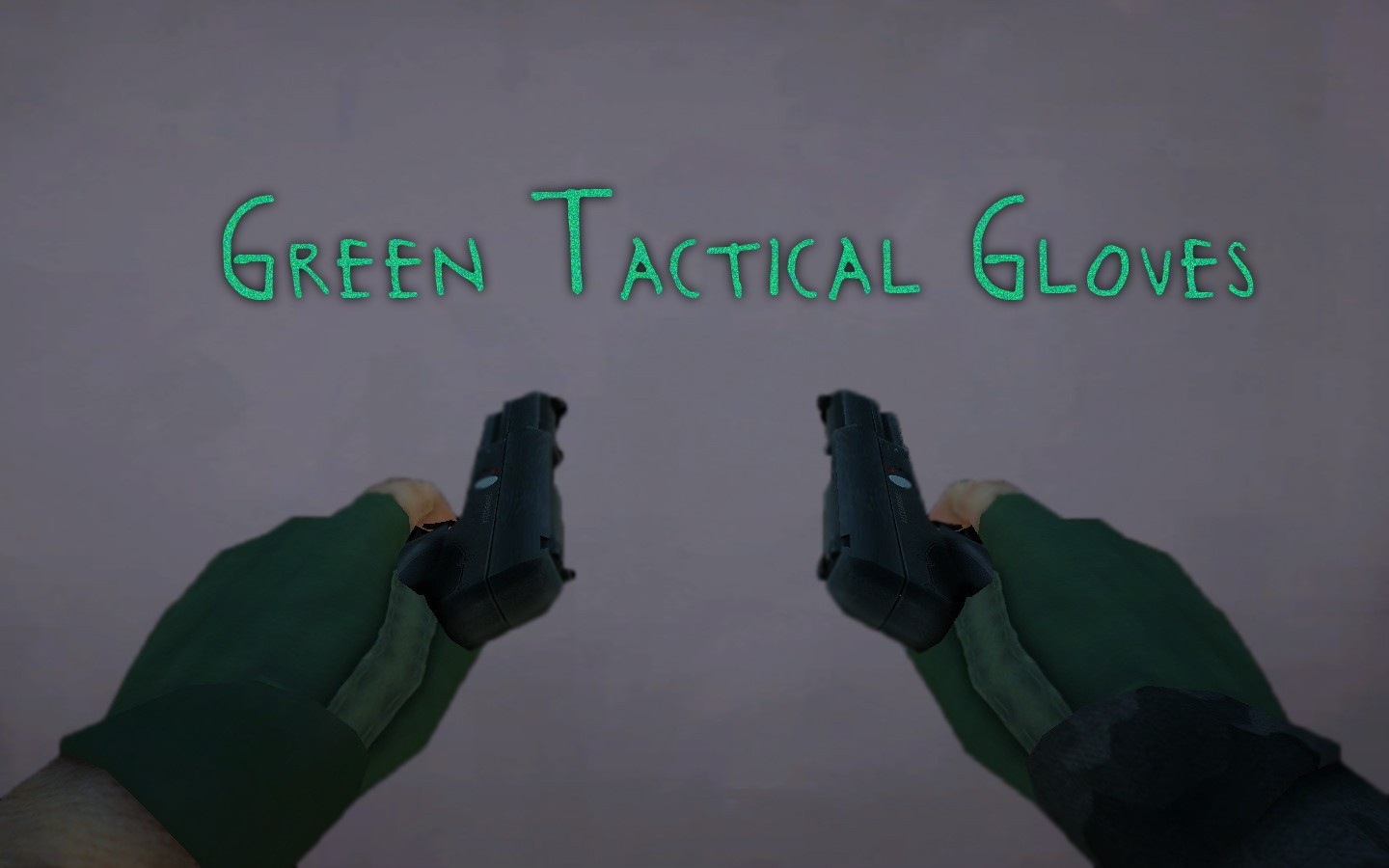Скачать Green Tactical Gloves (Not Really Tactical) бесплатно